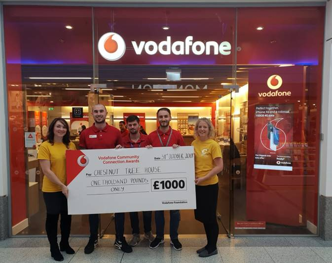 And the Vodafone Community Connection Award goes to...
