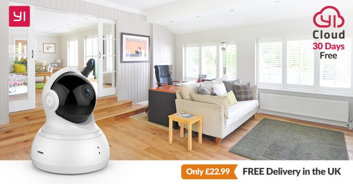 YI Dome Camera, now reduced
