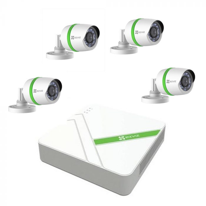 EZVIZ introduce ezWireless CCTV kit and analogue 'Everyday' and 'Crispr' wired CCTV kits