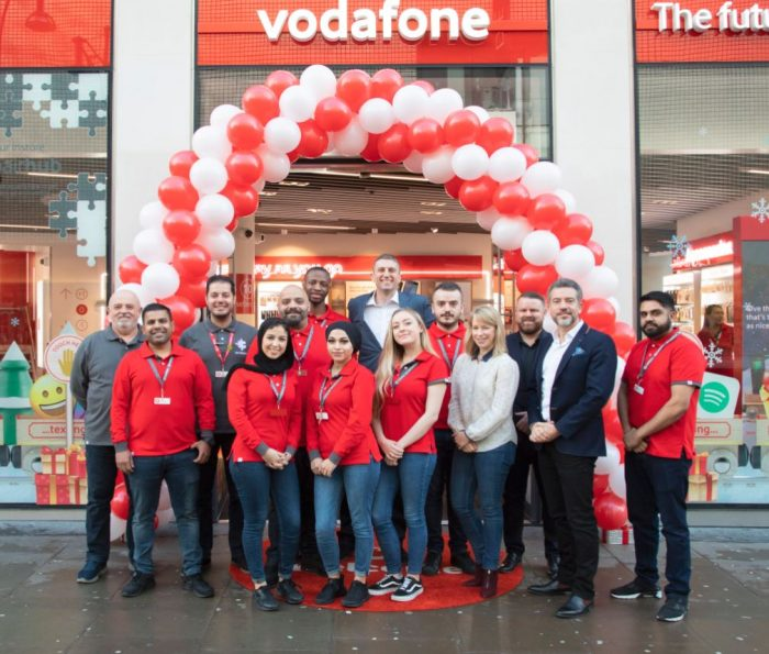 New experimental Vodafone store opens on Oxford Street