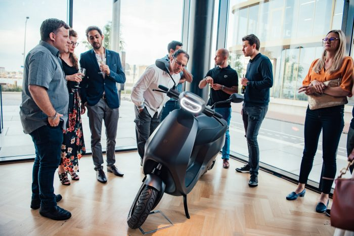 Another electric scooter incoming