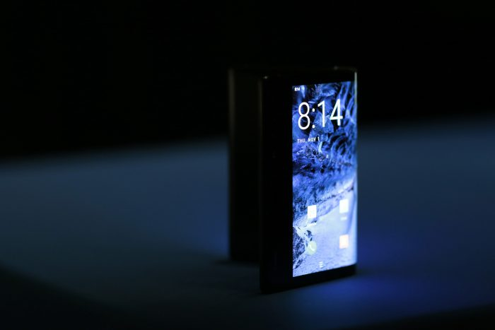 A look at the first foldable smartphone   the FlexPai
