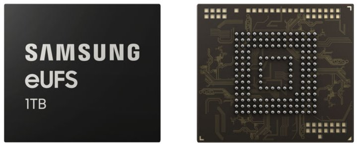 1TB Storage chips produced by Samsung