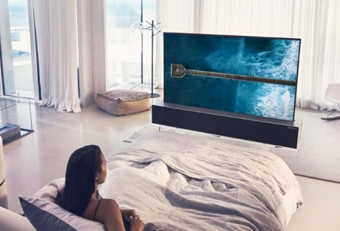 LG Announce a new rolled up TV