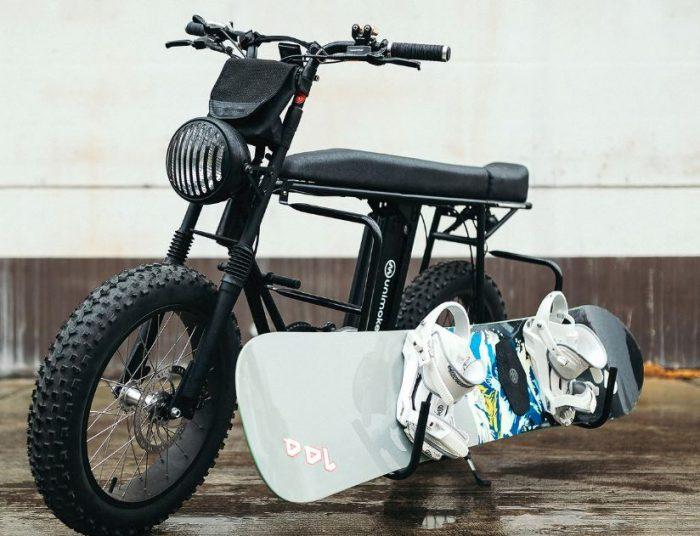 Uni Moke   A classic electric bike with style