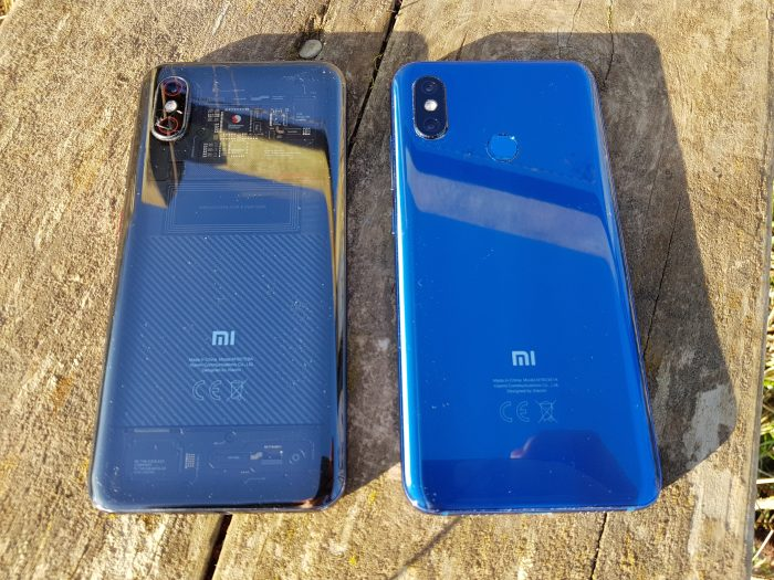 Xiaomi Mi 8 vs the Xiaomi Mi 8 Pro. Face off!