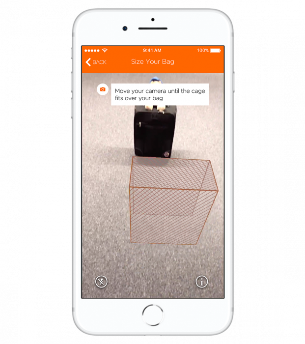 EasyJet launch hand luggage augmented reality app