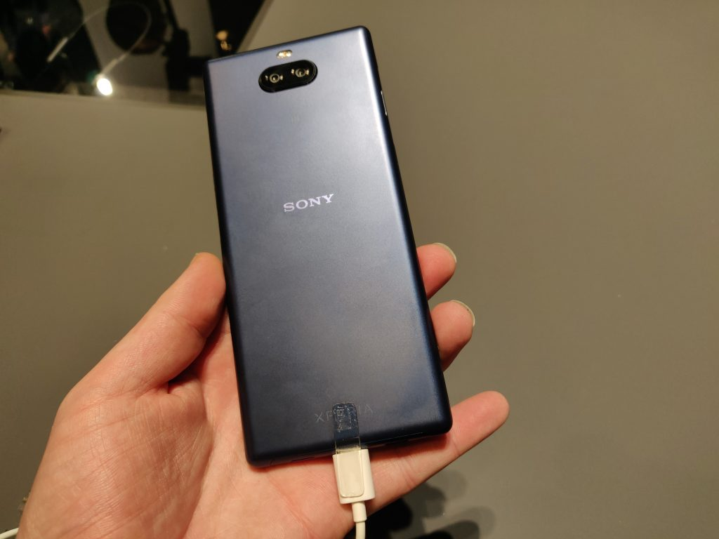 MWC   Sony launch Xperia 10 and Xperia 10+