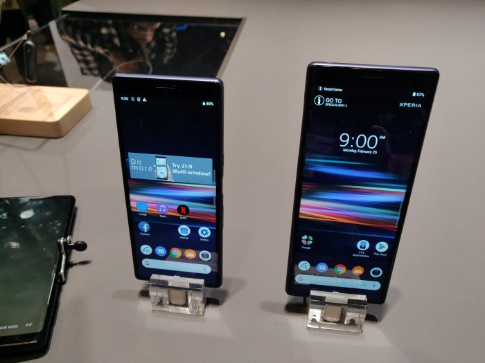 MWC   Sony Xperia 10 coming to Vodafone, complete with Dumbo!