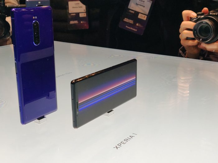 MWC   Sony Xperia 1 launched
