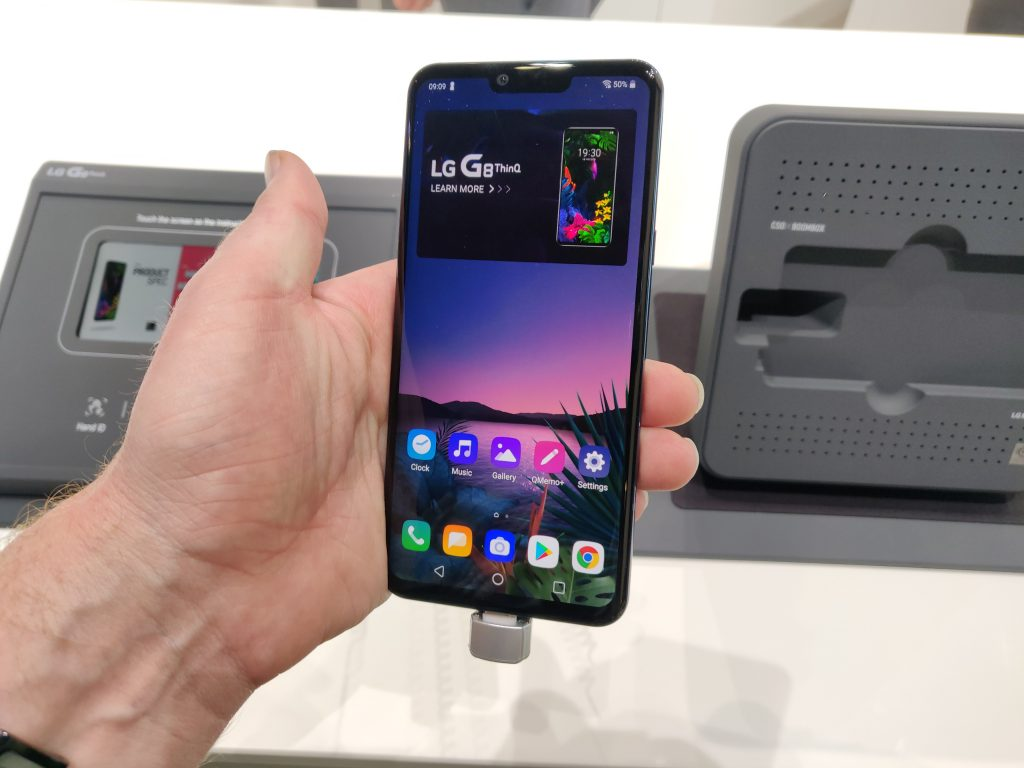 MWC   The LG G8 and LG G8s