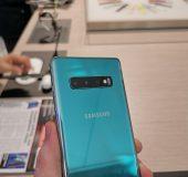 MWC – Up close. The Samsung Galaxy S10.