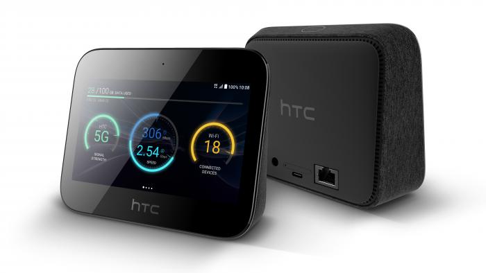 MWC   HTC unveil their 5G hub