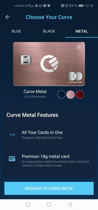 Curve adds purchase protection. Free £5 still available.