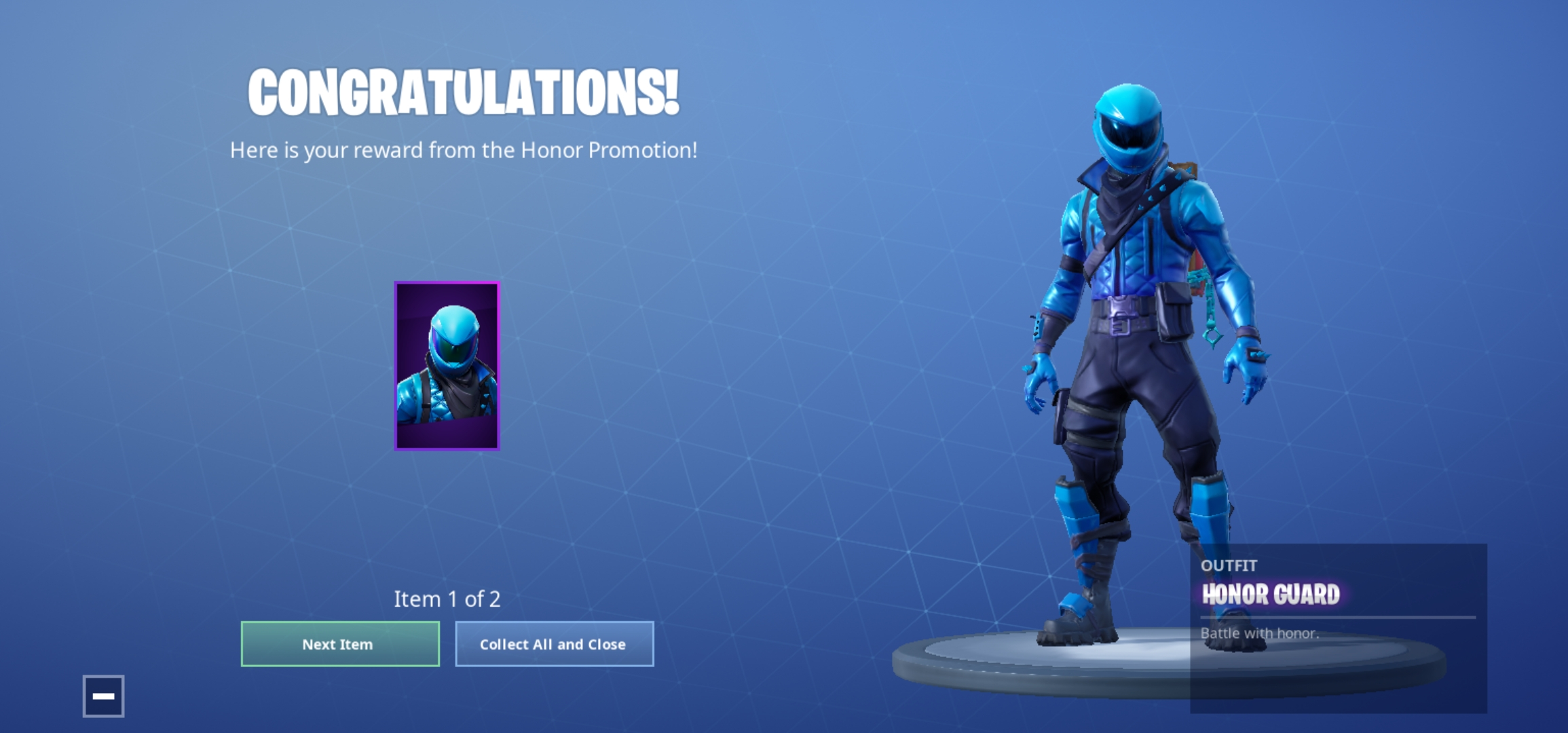 Has your Fortnite Honor Guard gone? Don't worry, here's what to do