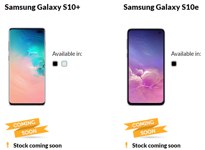 S10 giffgaff pricing announced