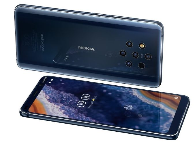 MWC   Nokia announce 9 PureView with 5 camera setup!