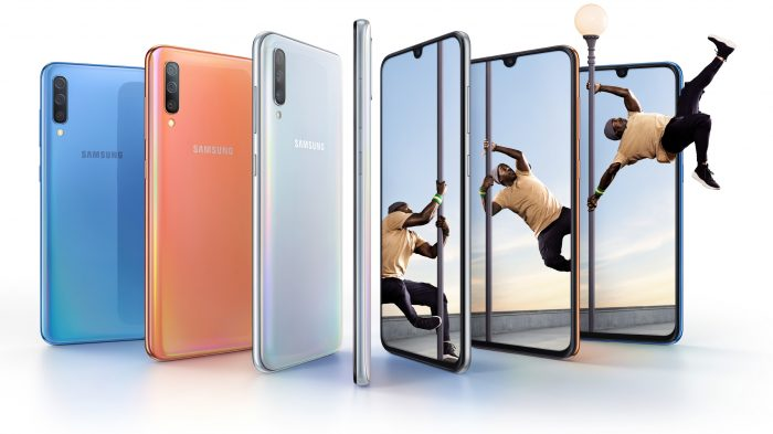 Say hello to the Samsung Galaxy A70