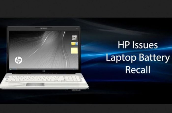 HP recall yet more laptop batteries