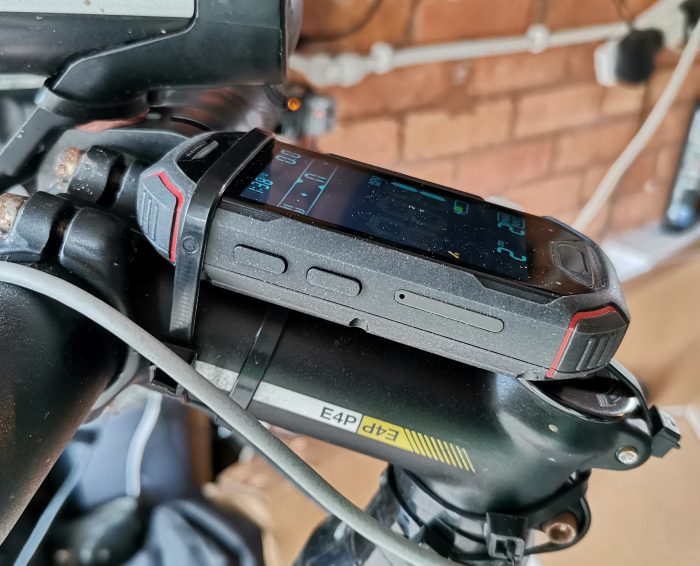 An Android bike computer