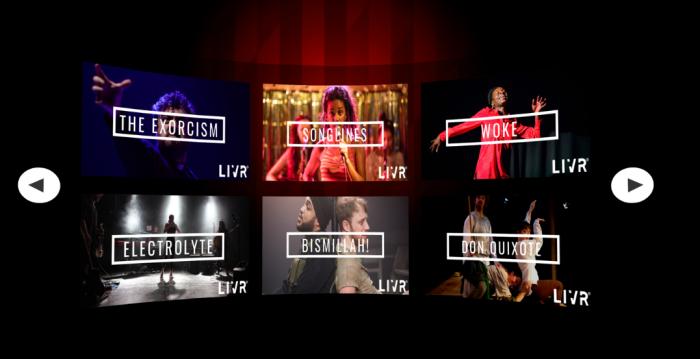 On demand VR Theatre   LIVR