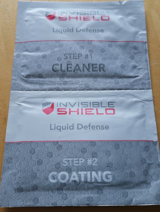 InvisibleShield Liquid Defence   On test