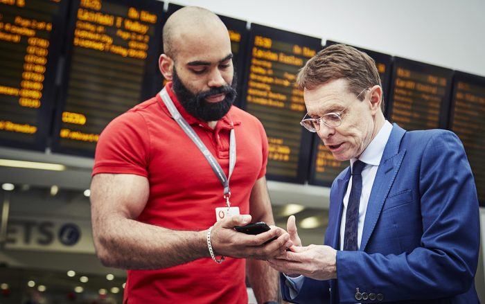 Vodafone 5G trials at New Street
