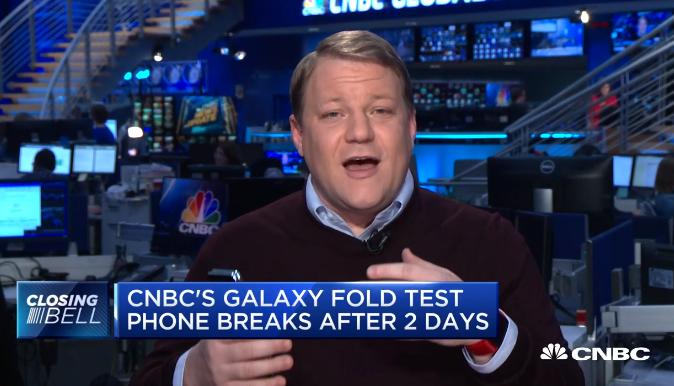 Samsung Galaxy Fold units breaking already.