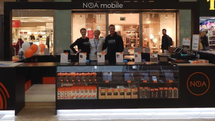 NOA Opens their first European store
