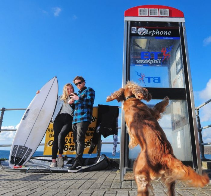 Vodafone add 4G to phone boxes across Cornwall
