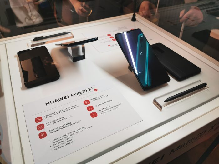 Huawei goes 5G. Welcome in, the Mate 20 X