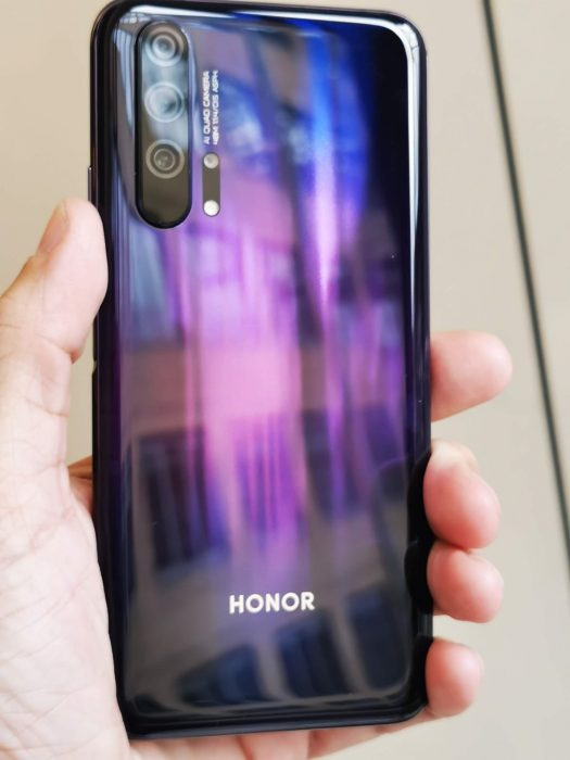 Honor 20 Pro to launch here in the UK on Thursday