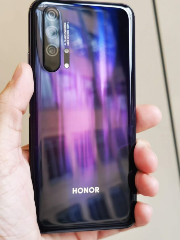 Honor 20 Pro announced