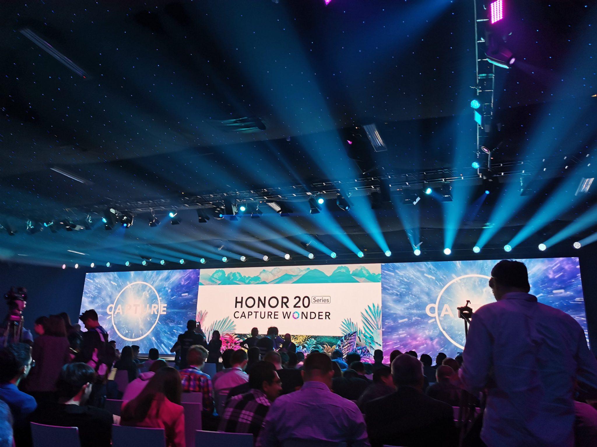 Honor 20 Series live stream