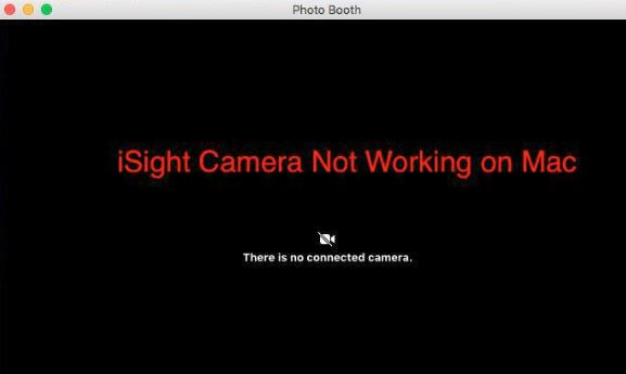 iSight Camera failure on Mac?