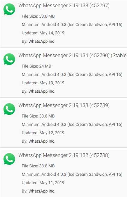 Update your WhatsApp people!