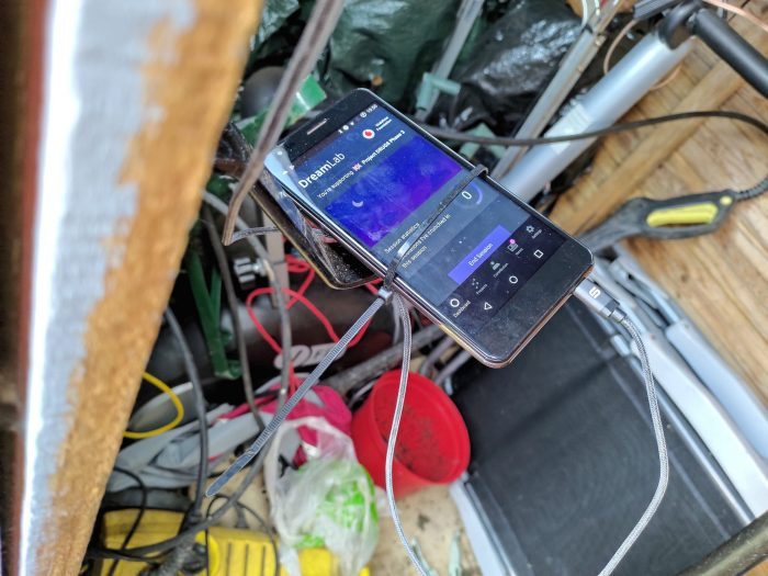 Making use of an old smartphone. The Shed Project Returns!