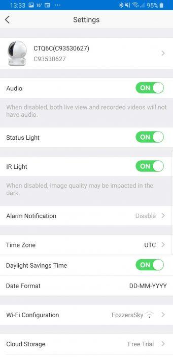 Ezviz CTQ6C Wireless Security Camera   Review