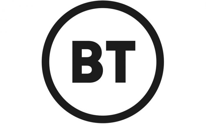 No, really. That IS the new BT logo