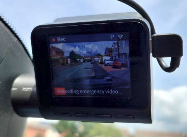 70mai Smart Dash Cam now gets GPS information on footage!