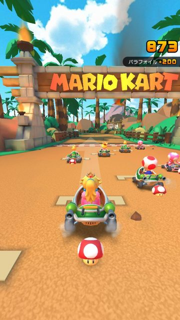 Mario Kart   Android gameplay