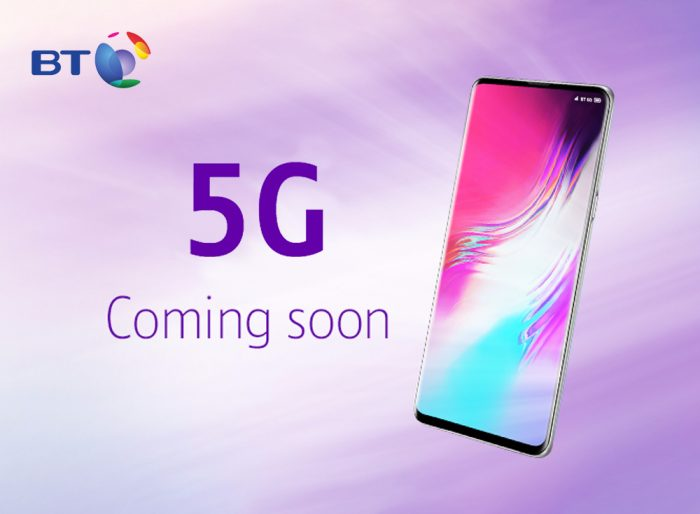 BT Announce 5G launch plans
