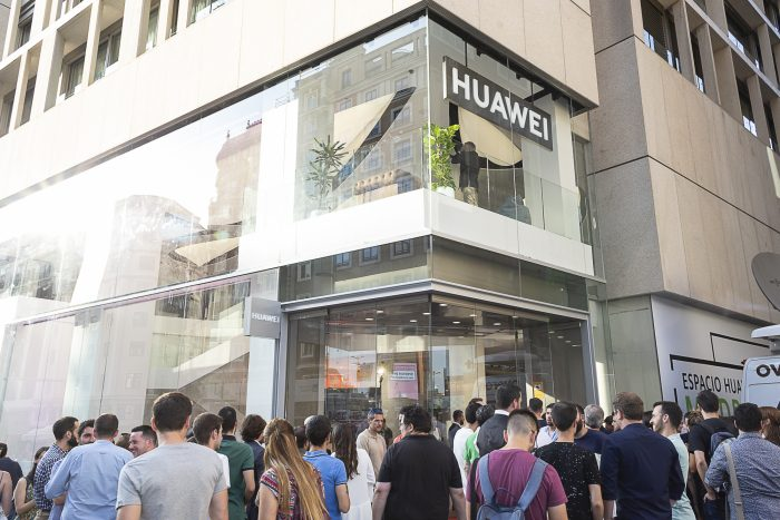Huawei comes to Madrid