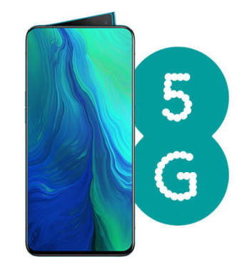 OPPO Reno 5G arrives on EE