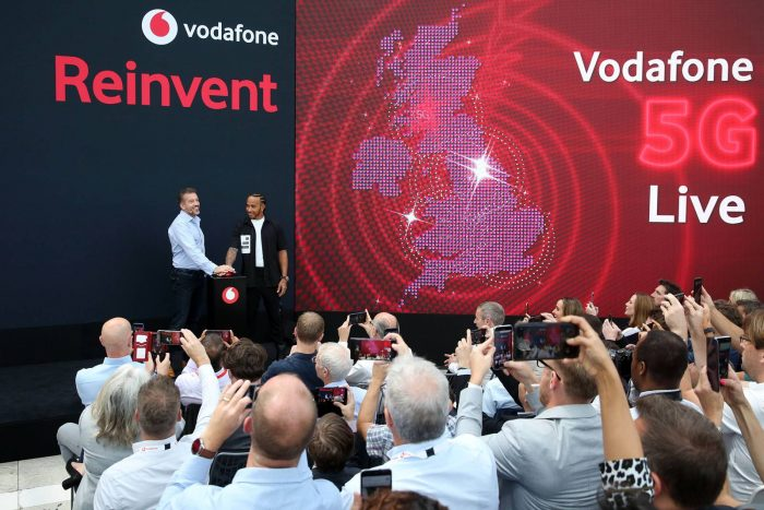 Vodafone 5G   I feel the need, the need for speed.
