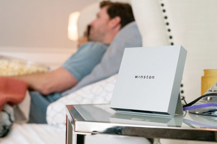 Winston   A Kickstarter gadget to protect your online life
