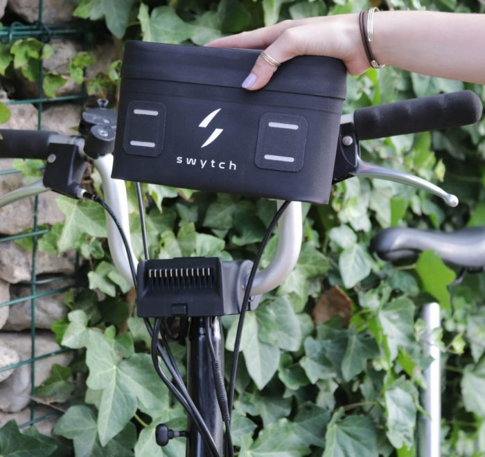 Give your bike electric power easily with the Swytch Kit