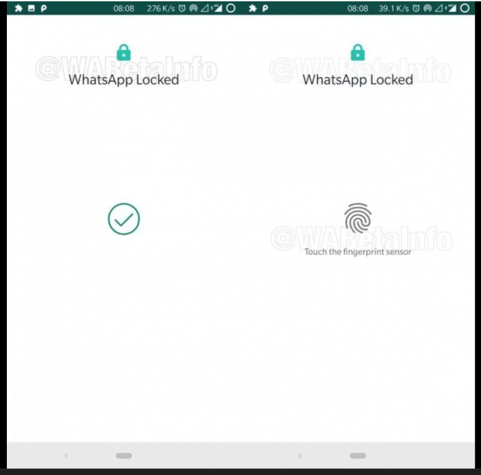 Fingerprint unlock finally coming to WhatsApp.