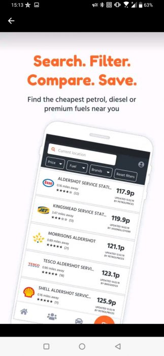 Petrol Prices app receives a big update