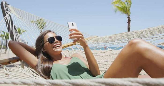 Did you relax on holiday? Many are still glued to their phones
